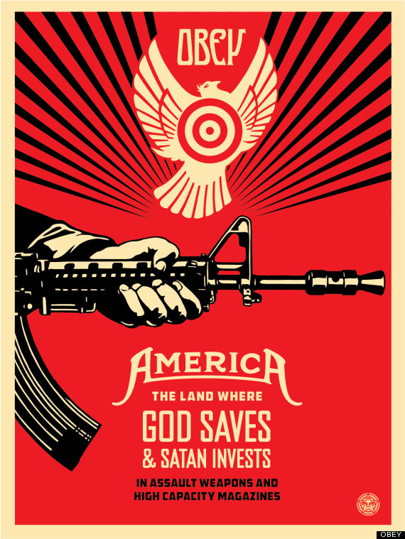 Shepard Fairey and the NRA
